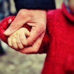 baby, hand, small child
